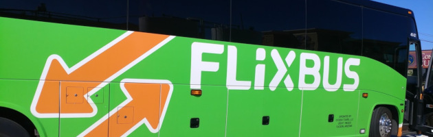 Riding a FlixBus to get between Los Angeles and Phoenix